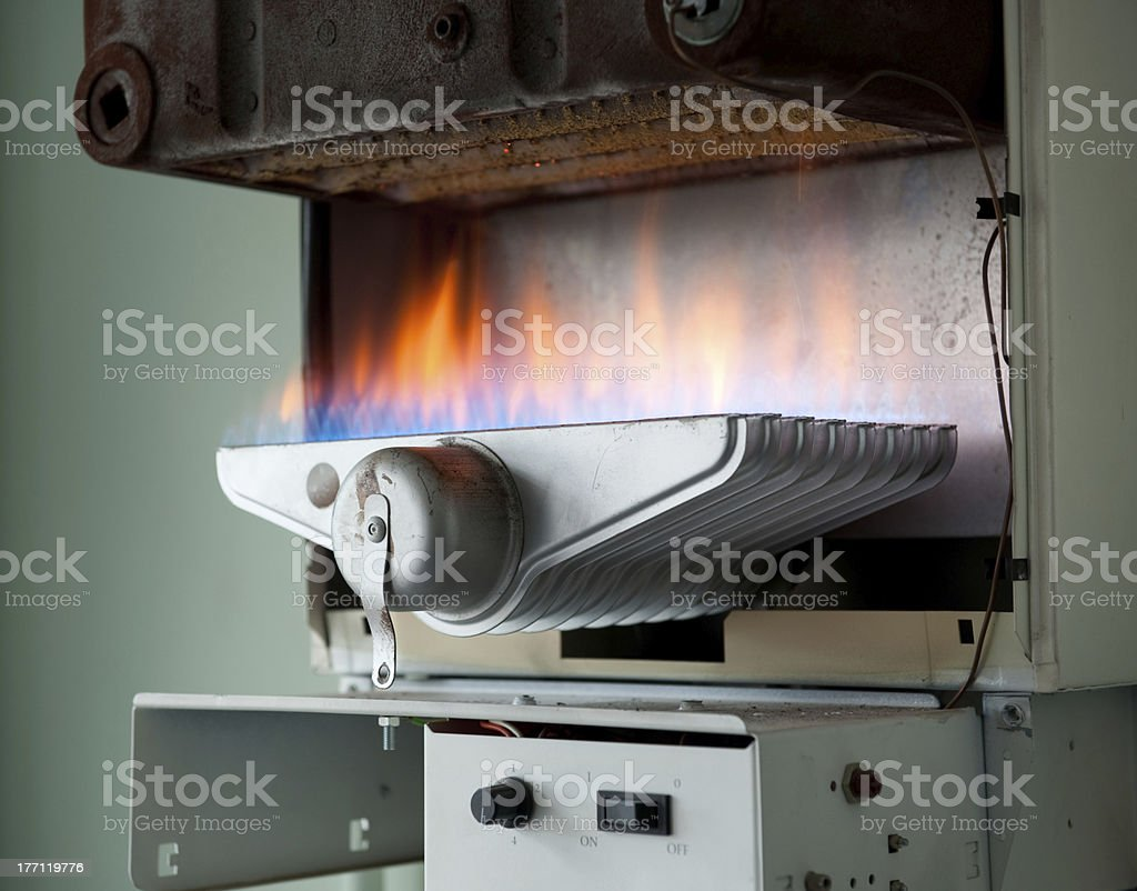 Gas Appliance stock photo