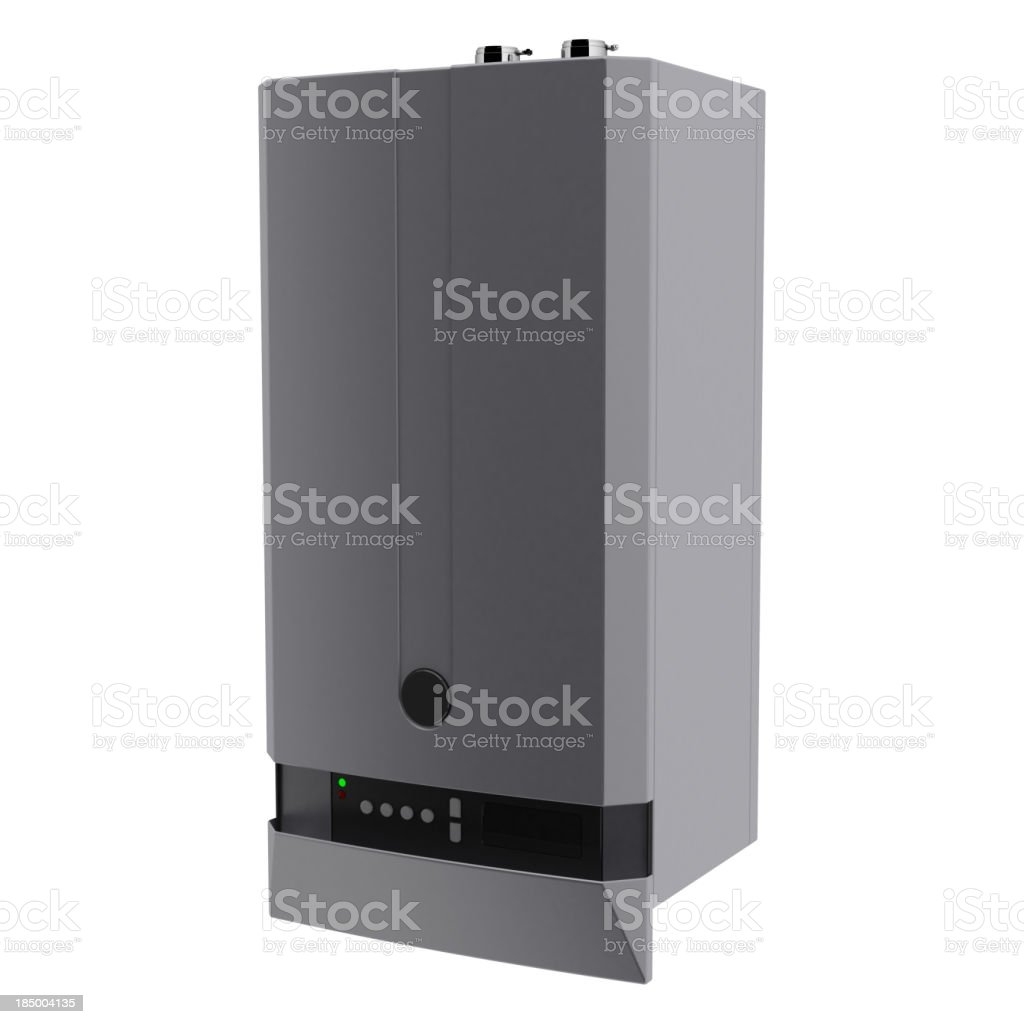 Gas boiler royalty-free stock photo