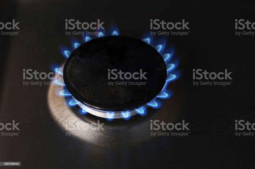 gas burners royalty-free stock photo