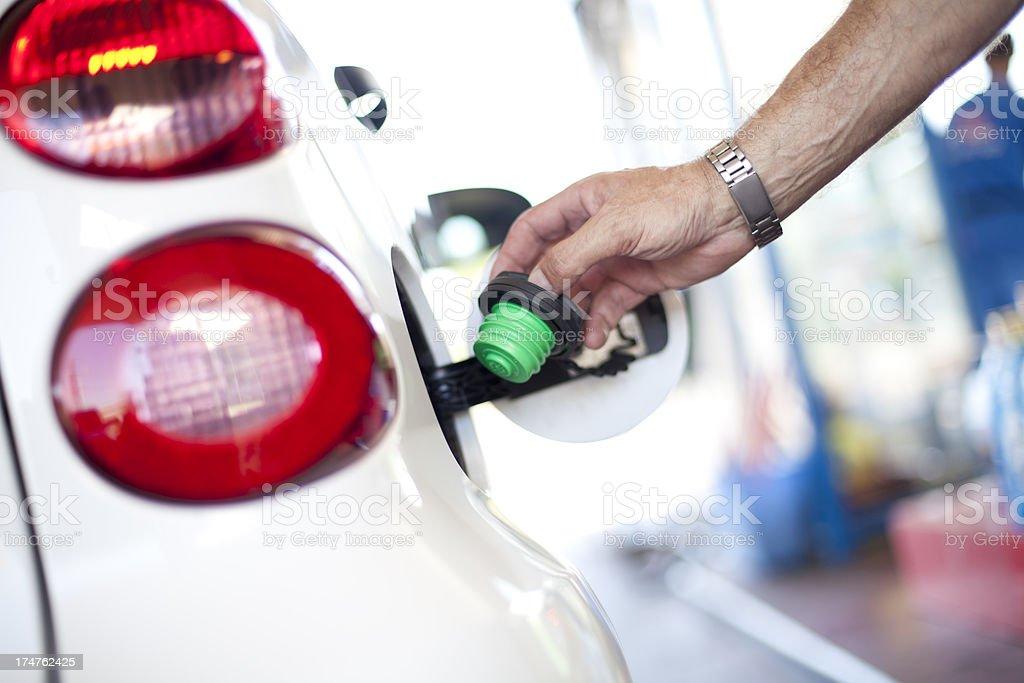 Gas Cap royalty-free stock photo