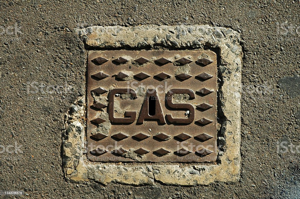 gas connection shelter royalty-free stock photo