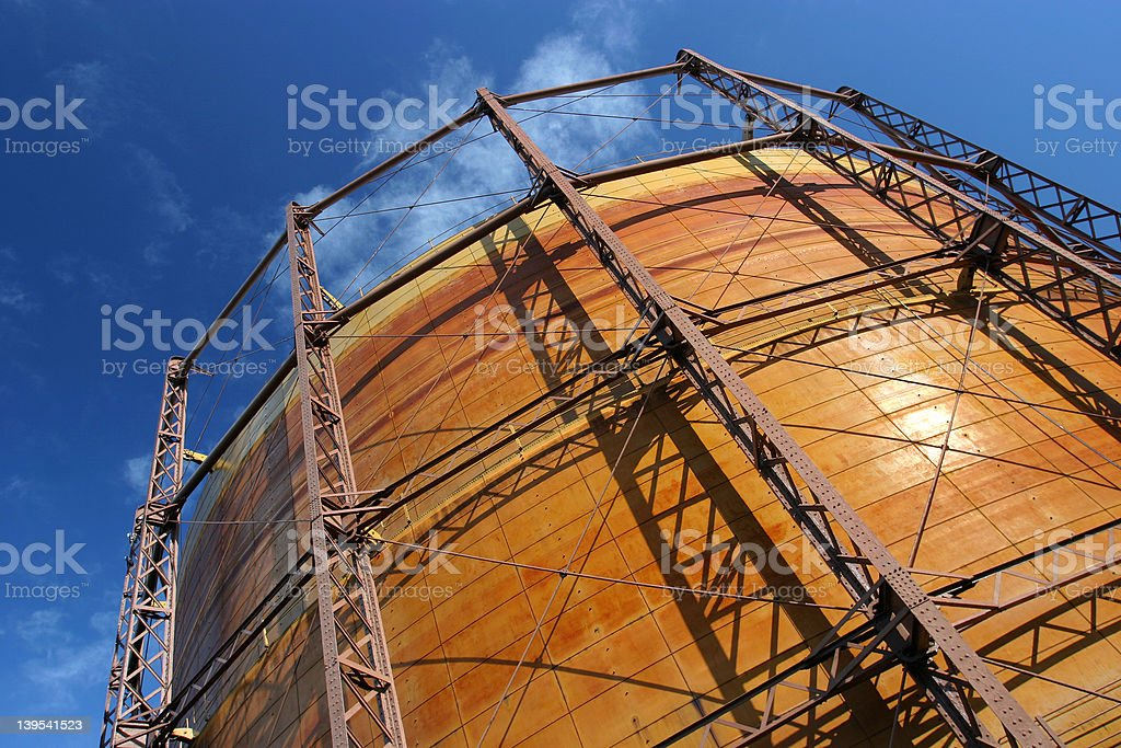 Gas Container 1 royalty-free stock photo