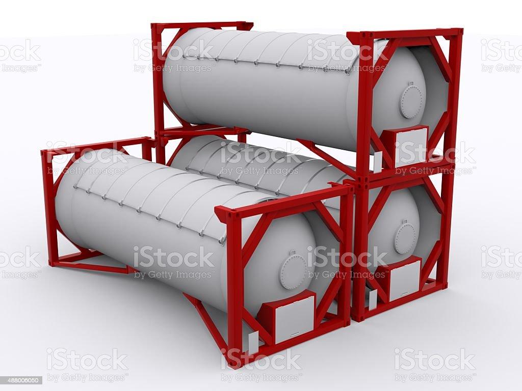LPG Gas Container stock photo