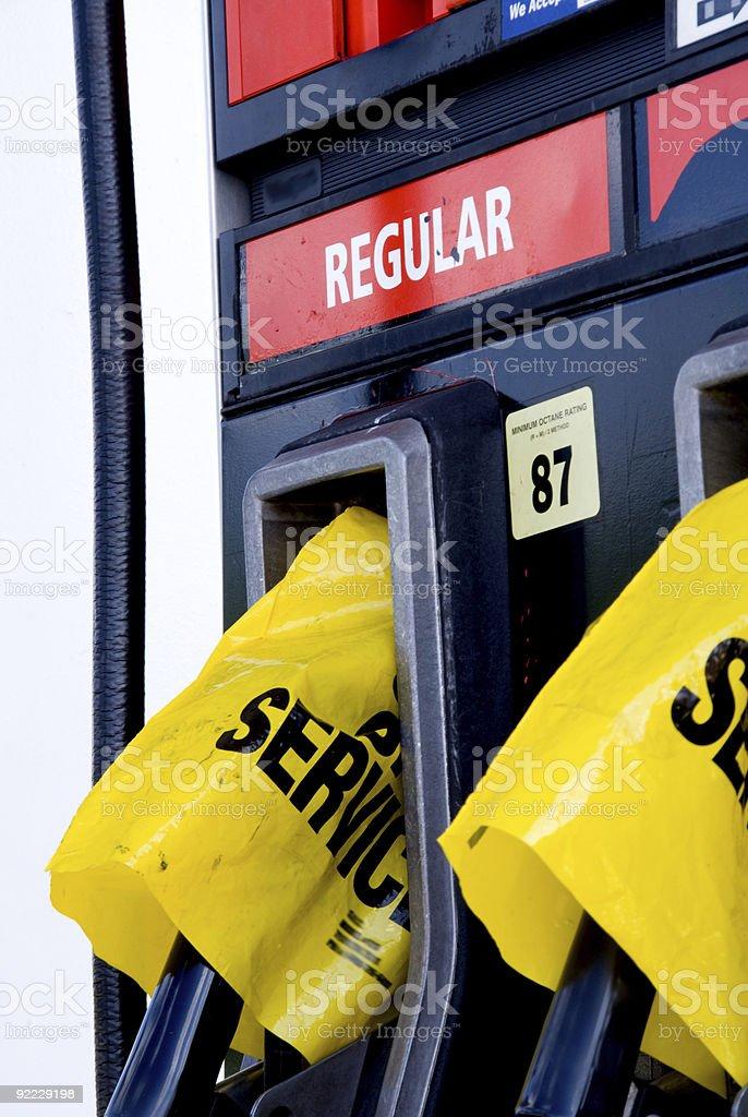 Gas Crisis stock photo