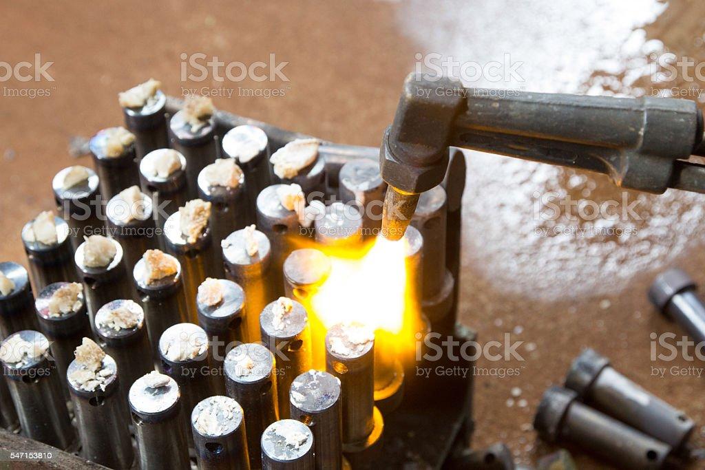 gas cutting stock photo