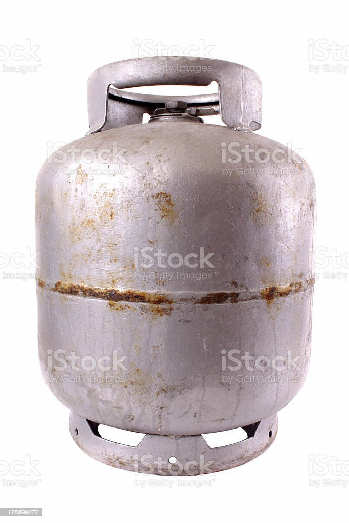 Gas cylinder royalty-free stock photo