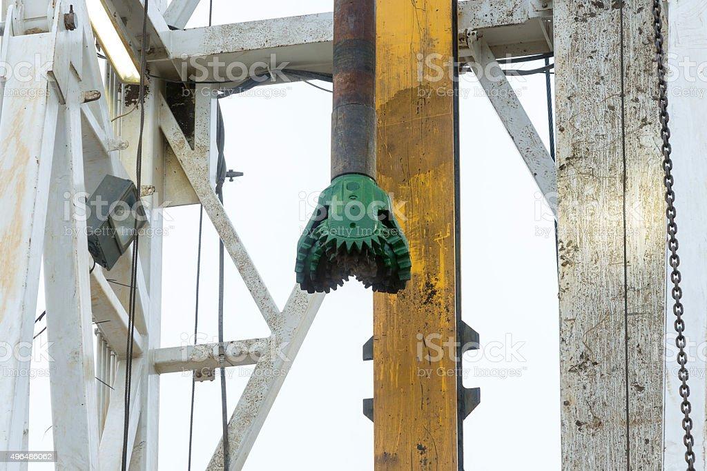 Gas drilling head stock photo
