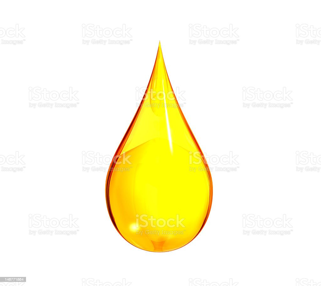 Gas Drop royalty-free stock photo