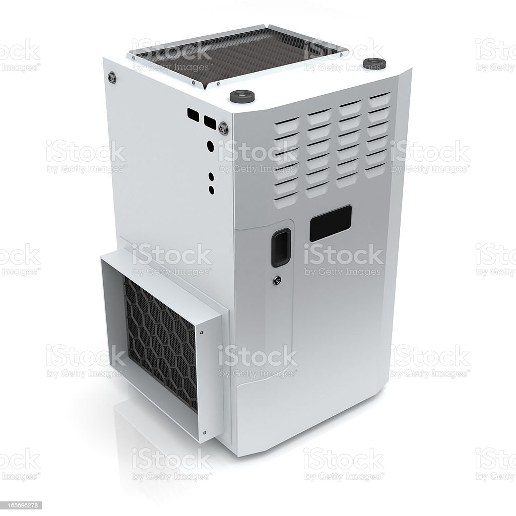 Gas Furnace stock photo