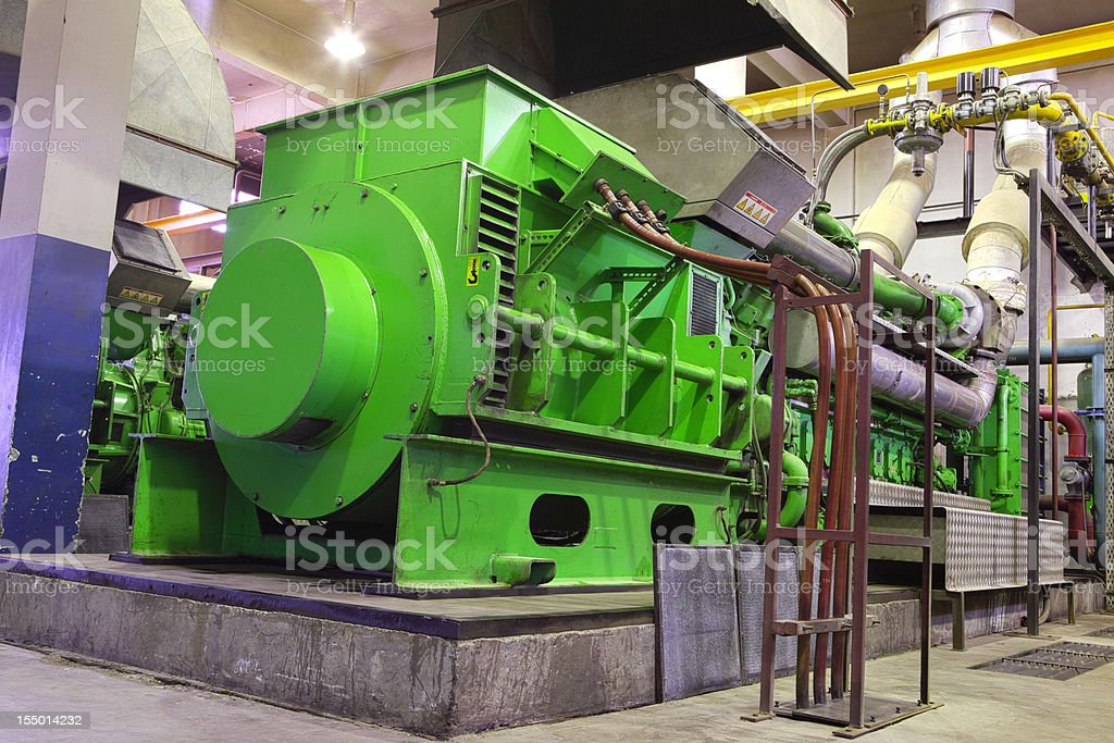 Gas Generator XXXL stock photo