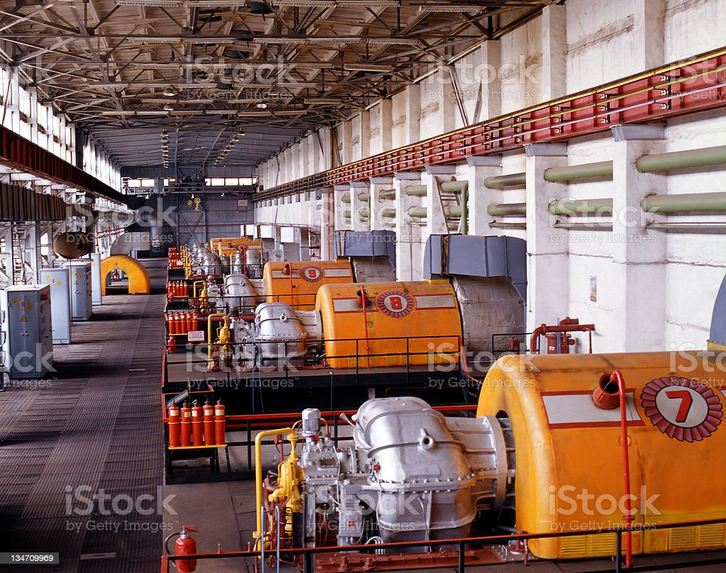 Gas industry stock photo