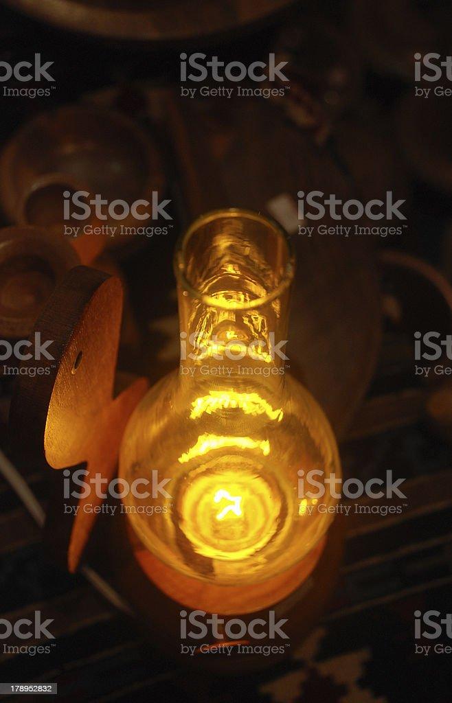 gas lamp Lizenzfreies stock-foto