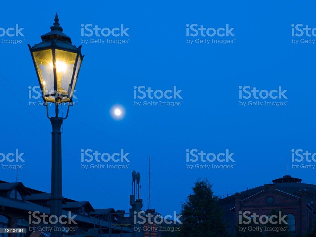 Gas Lantern stock photo