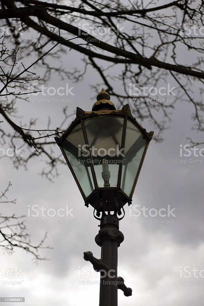Gas Light 1 royalty-free stock photo