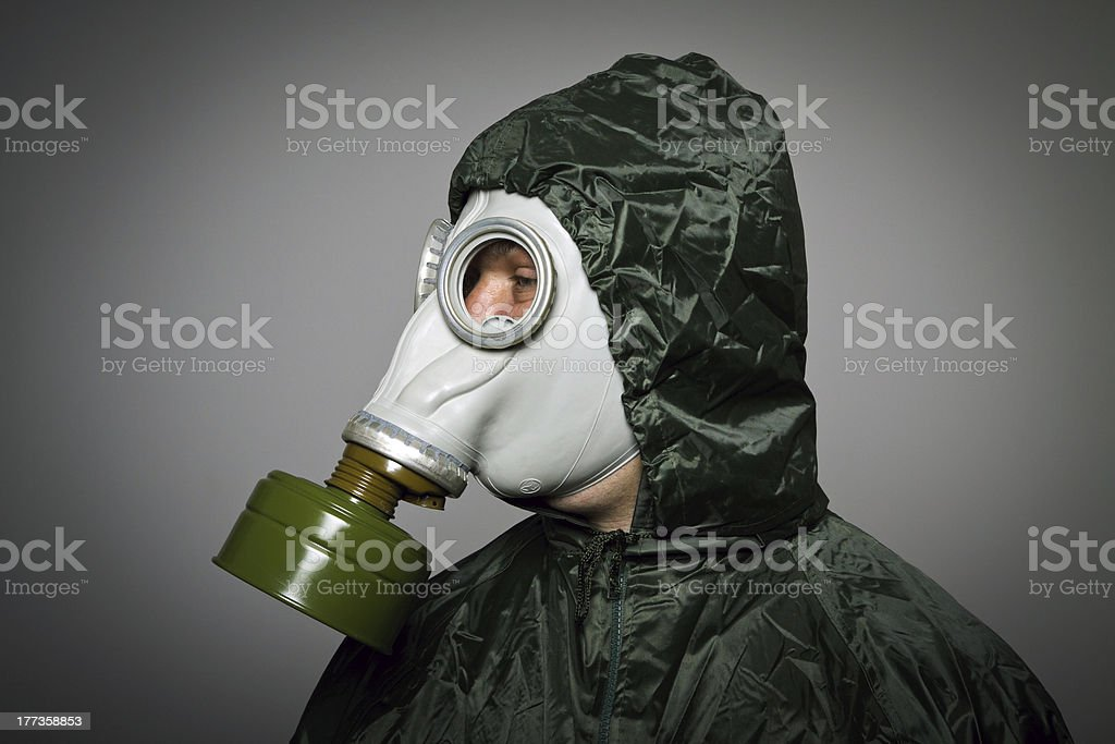 Gas mask royalty-free stock photo