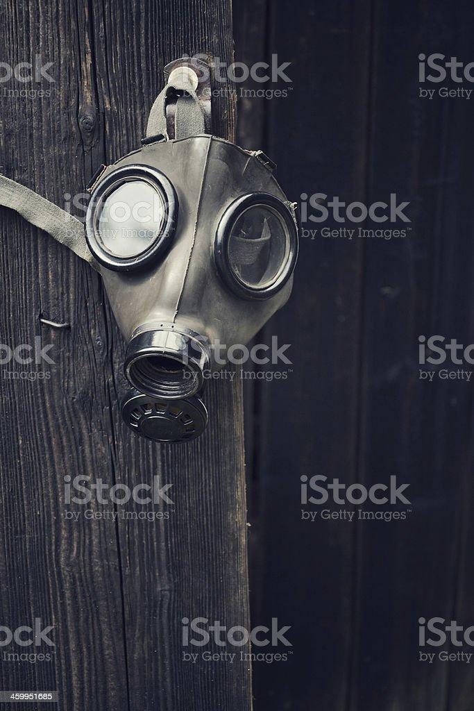 Gas mask stock photo