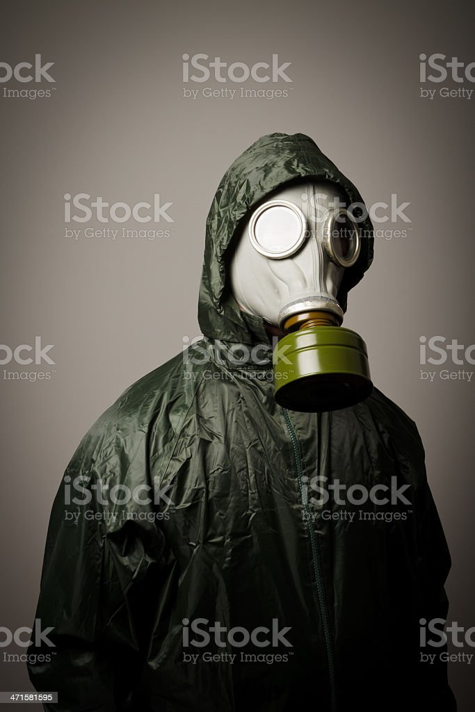 Gas mask royalty-free stock photo