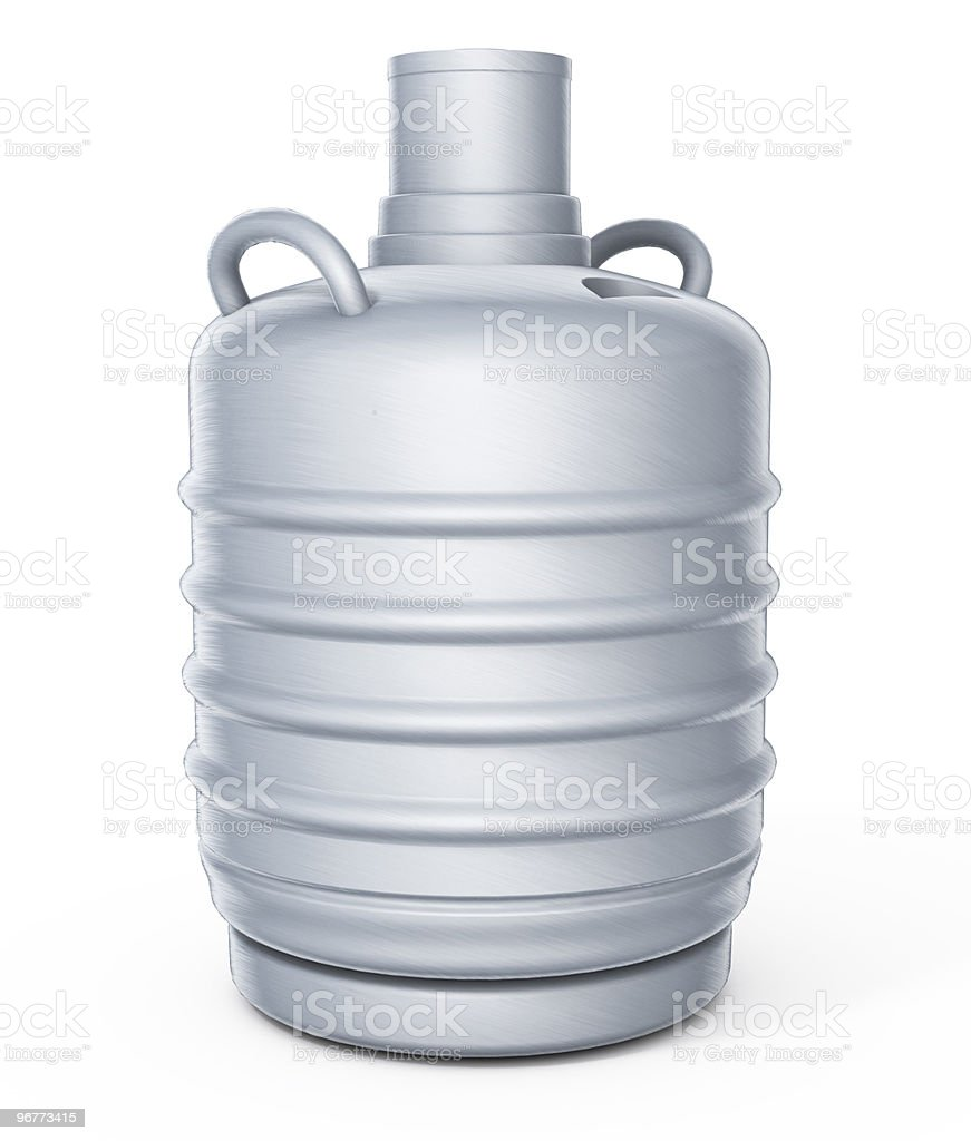Gas nitrogen bulb royalty-free stock photo