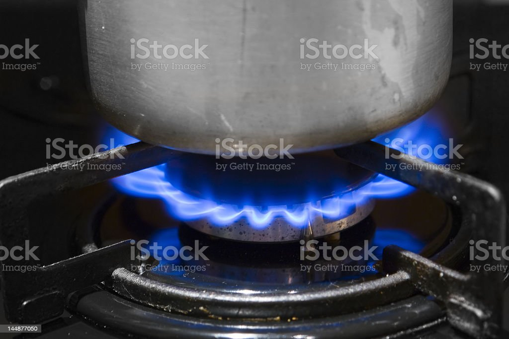 Gas. royalty-free stock photo