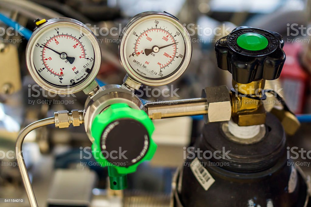 Gas stock photo
