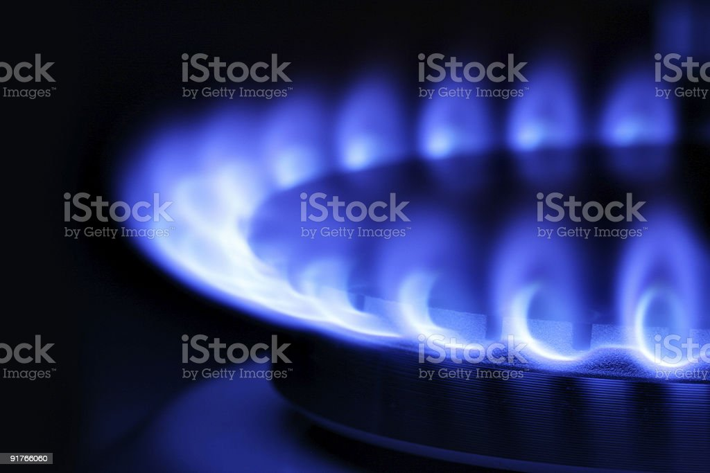 Gas royalty-free stock photo