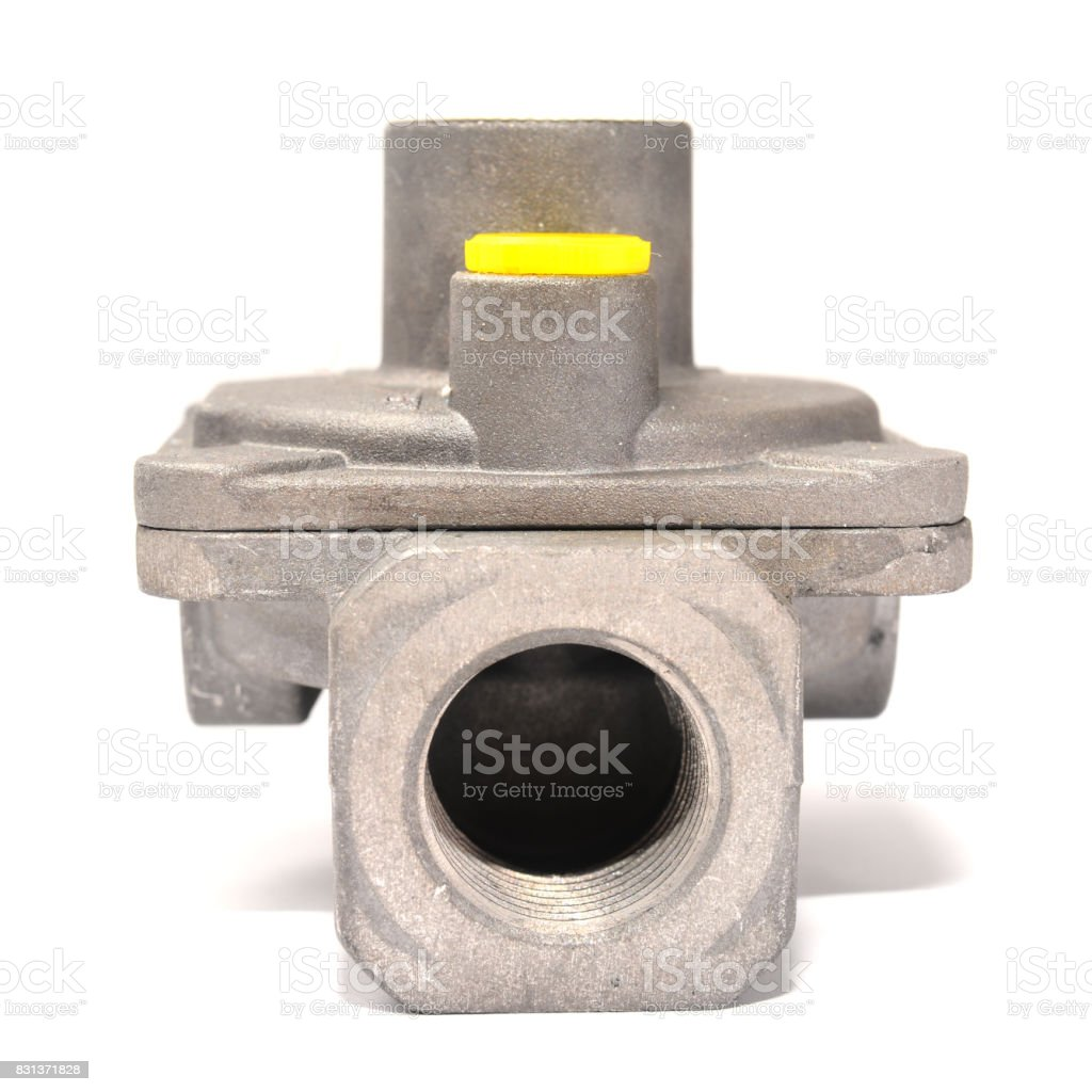 gas pipe joint stock photo
