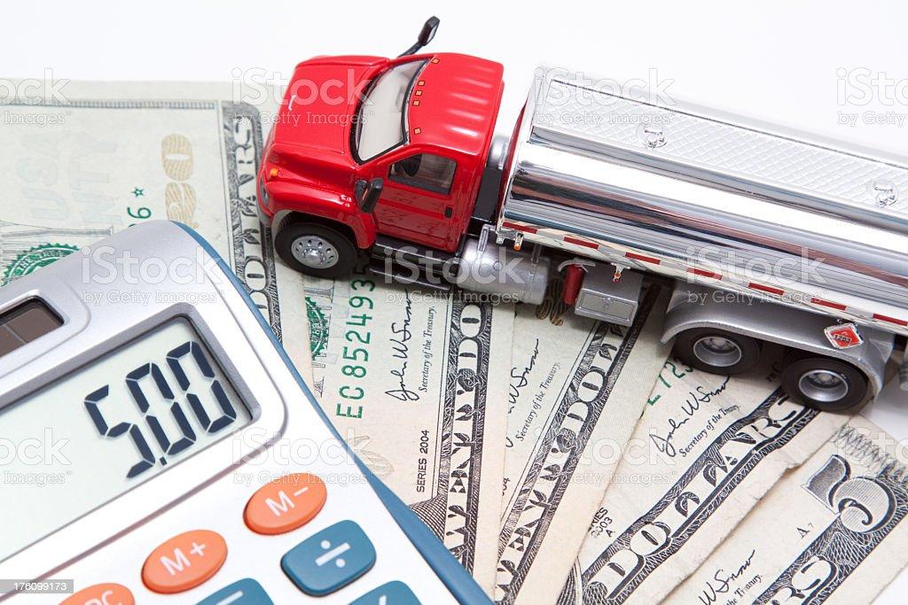 Gas Price Concept stock photo