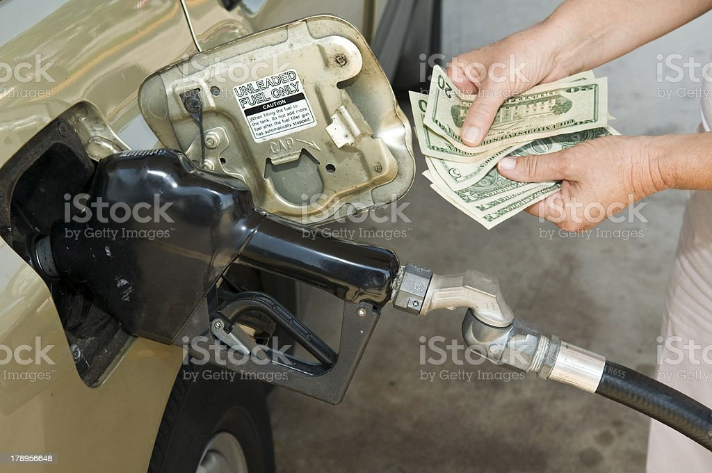 Gas Price stock photo