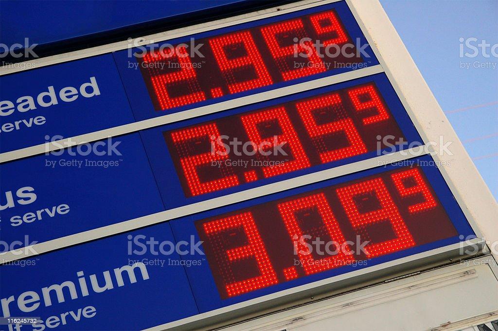 Gas Prices stock photo