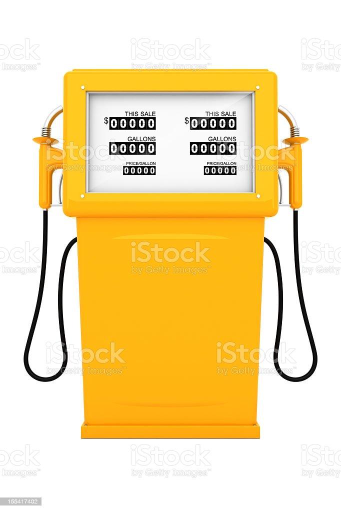 Gas Pump royalty-free stock photo