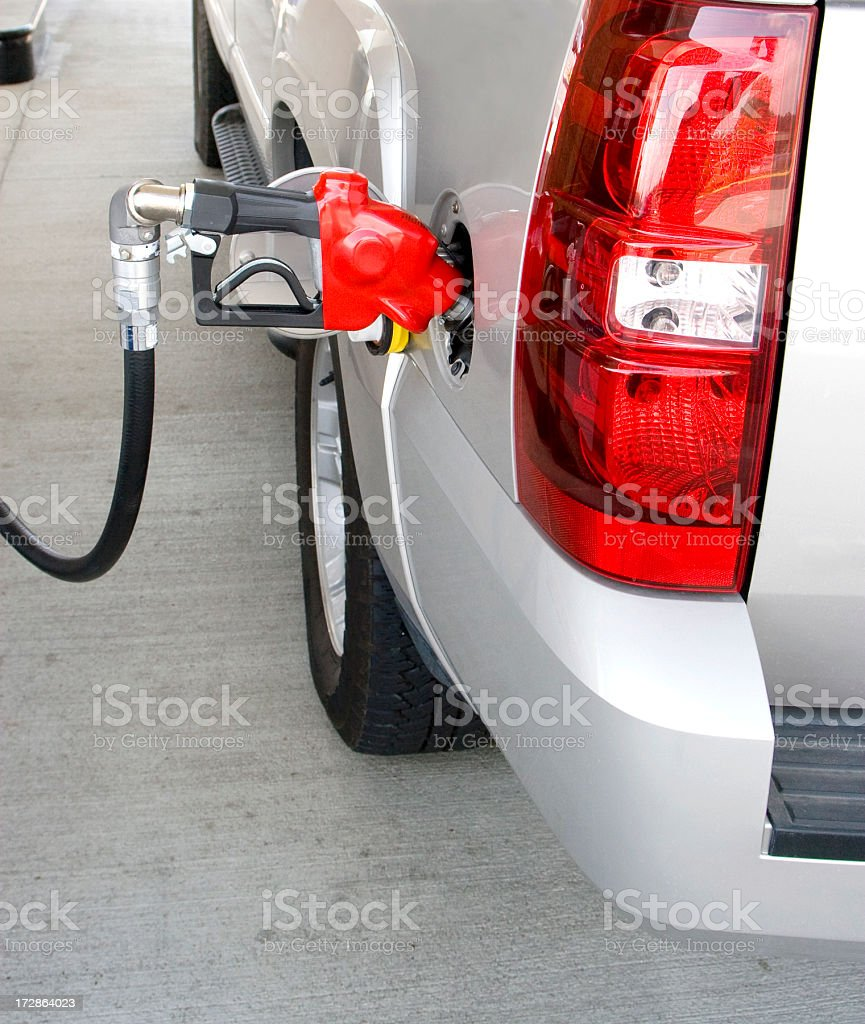 gas pump (#2 of series) royalty-free stock photo