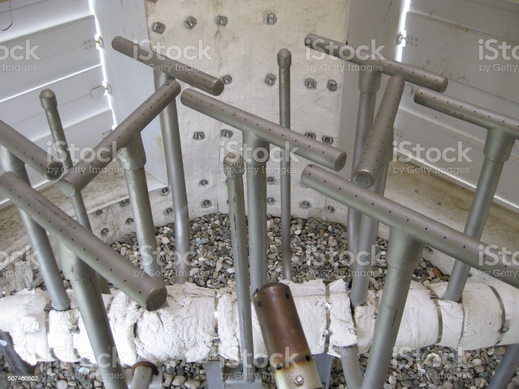 Gas ring in torch system of the closed type, appearance stock photo