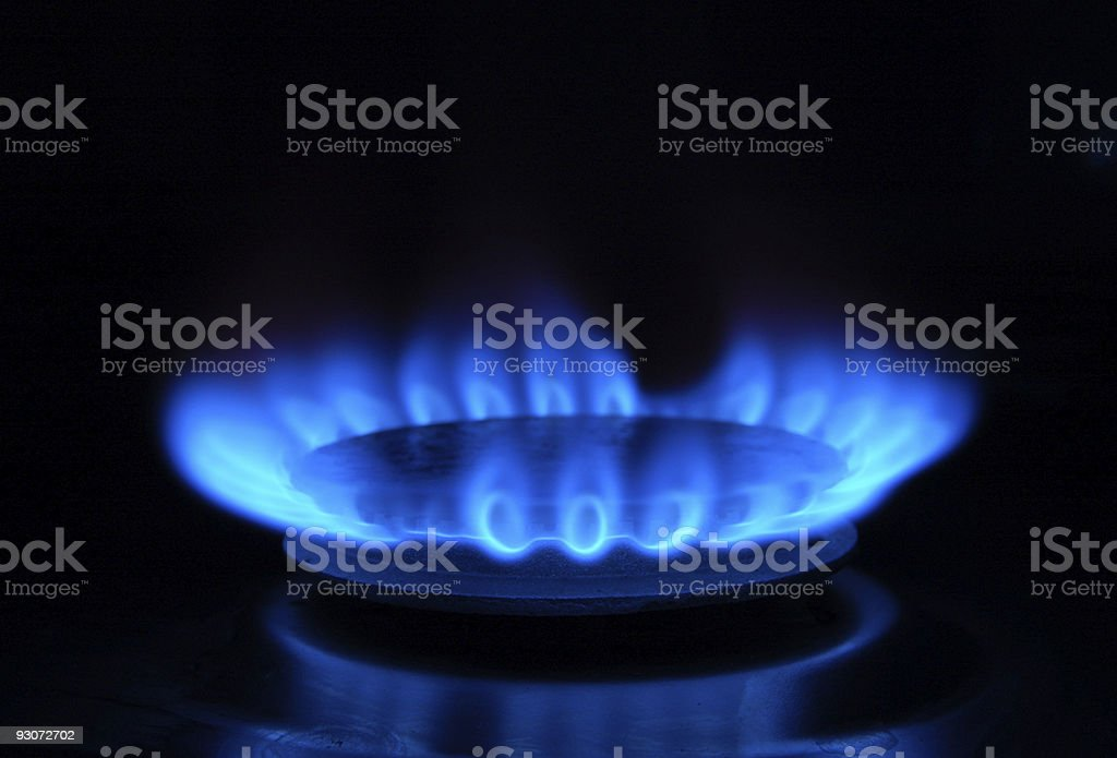 Gas Ring royalty-free stock photo