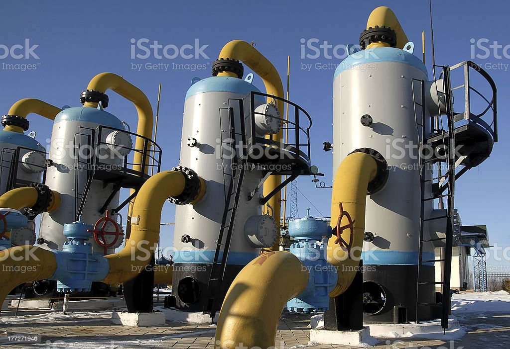 gas station equipment 16 royalty-free stock photo