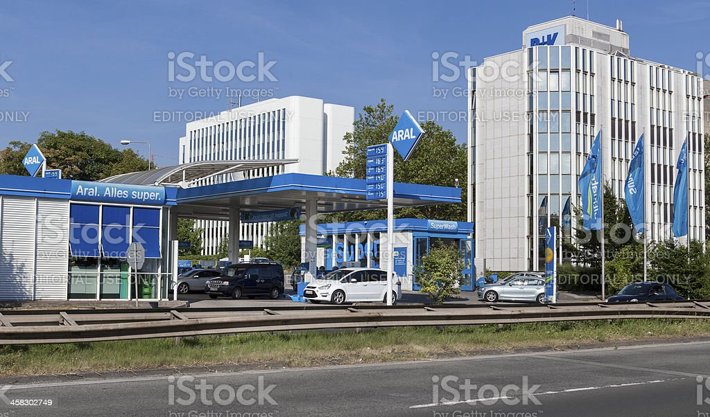 ARAL Gas Station stock photo