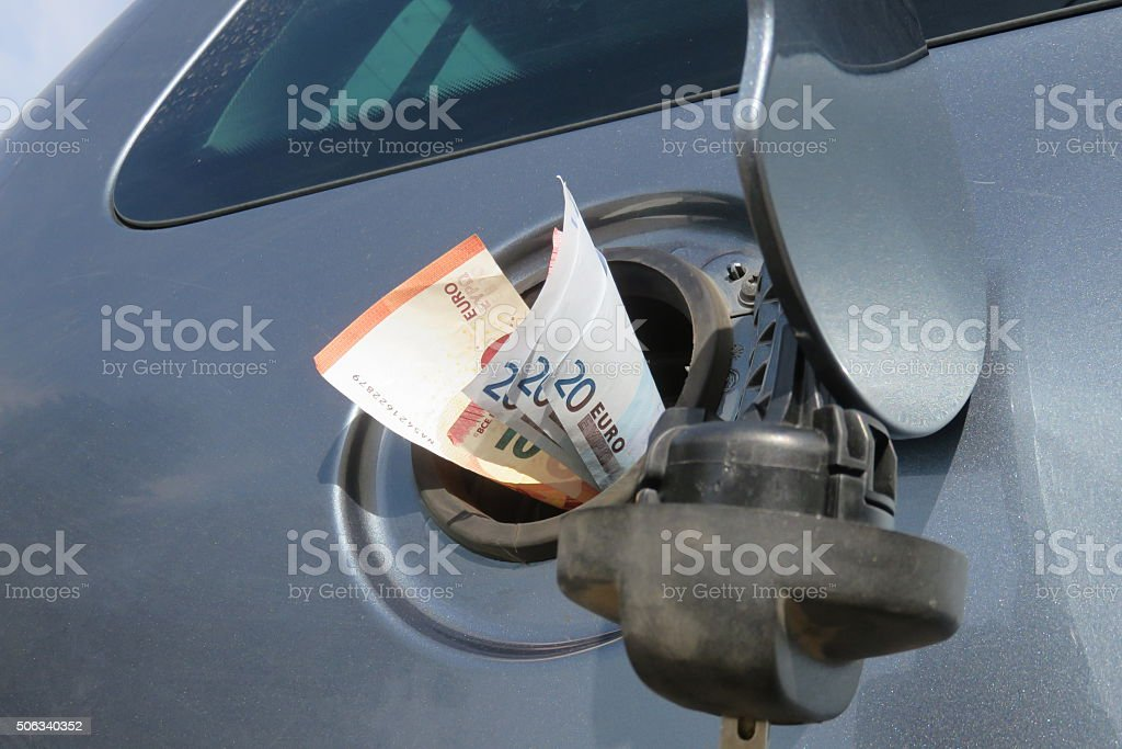 gas station stock photo