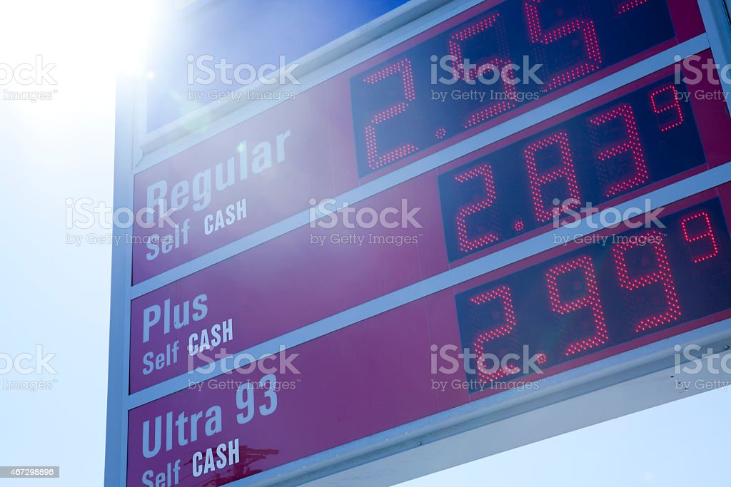 Gas Stations in Long Island stock photo