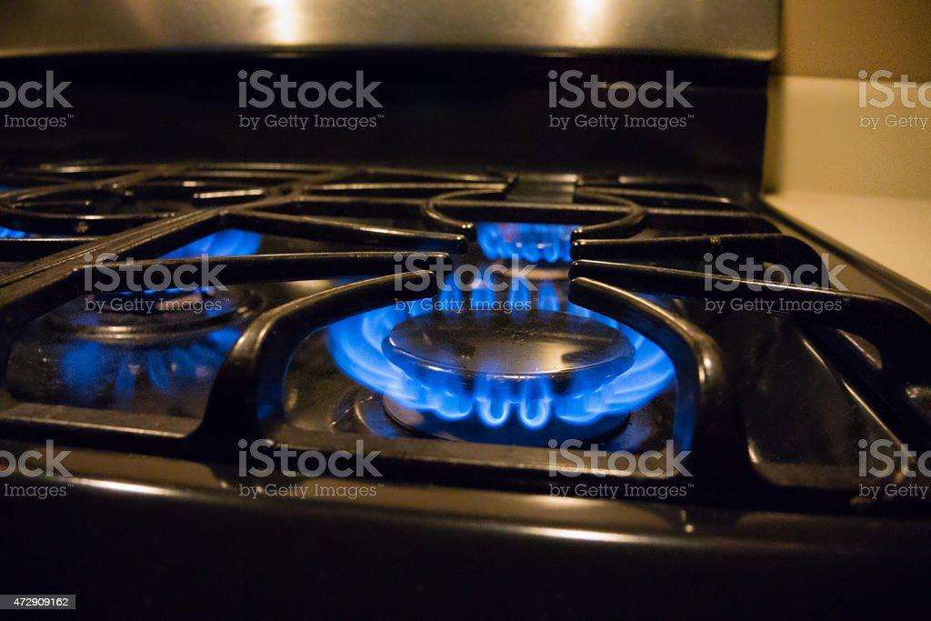 Fornello a Gas foto stock royalty-free