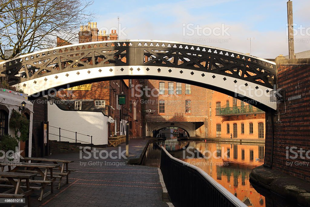 Gas Street Basin stock photo