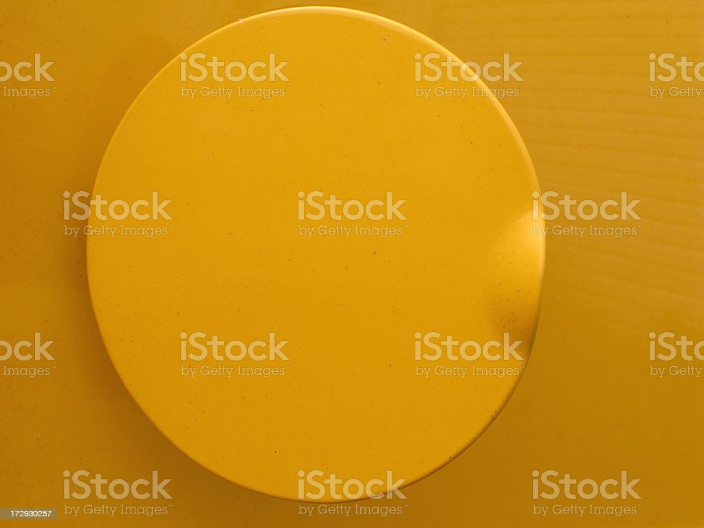 Gas tank cover. royalty-free stock photo
