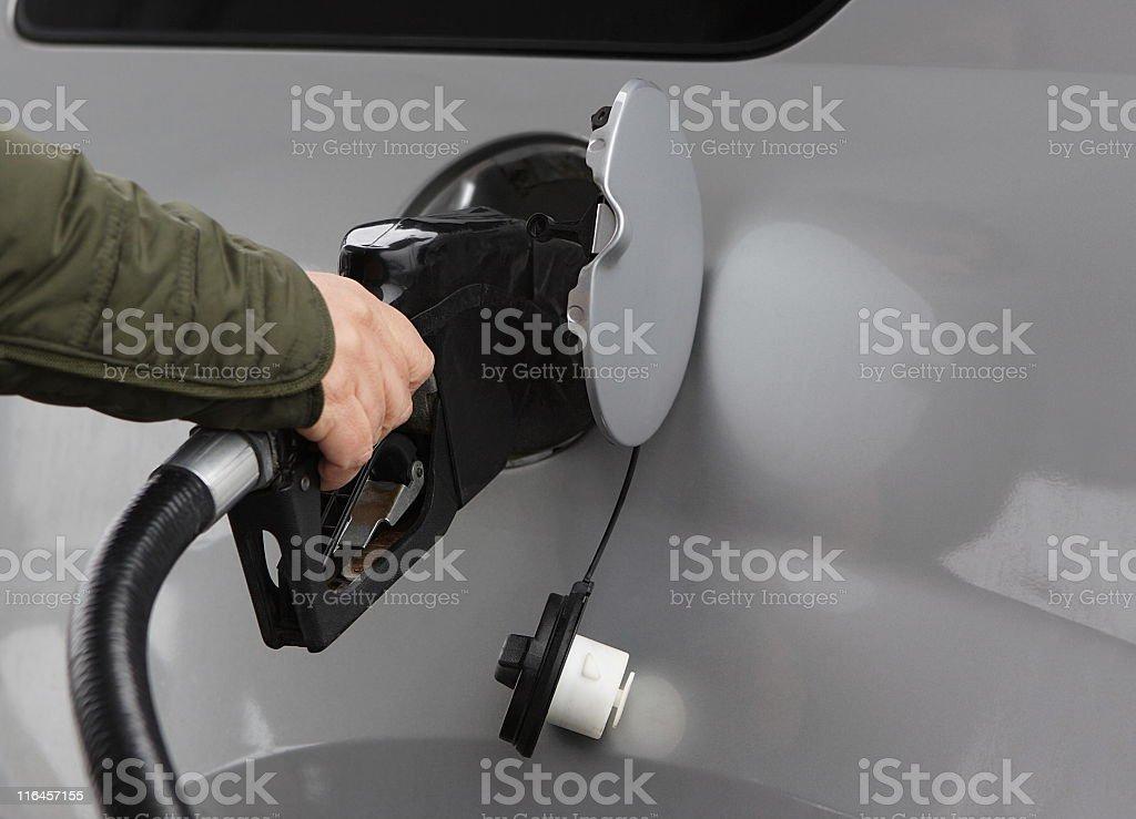 Gas Tank Fuel Car Transportation stock photo