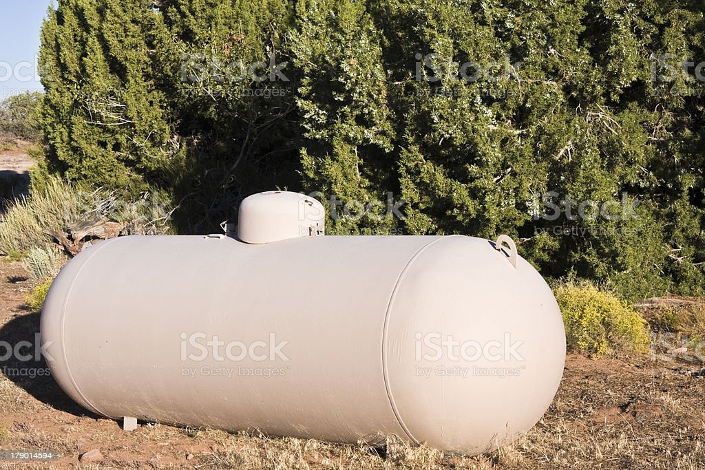 Gas Tank royalty-free stock photo