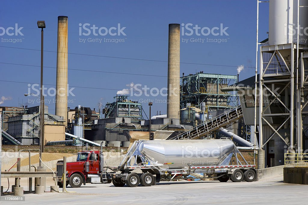 Gas Tanker royalty-free stock photo
