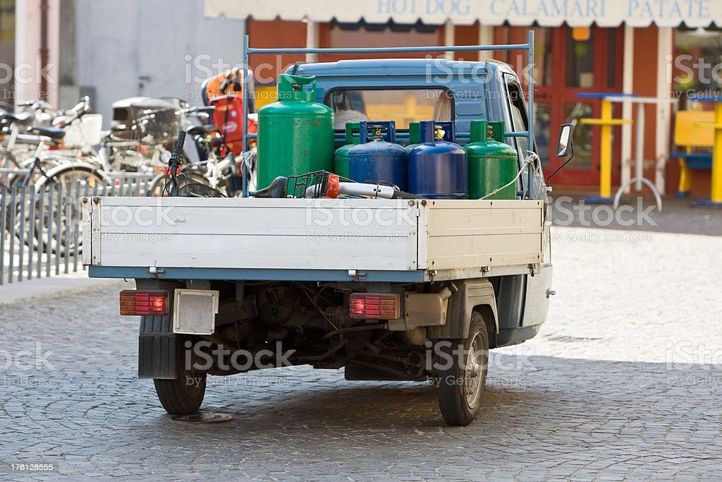 Gas Transportation royalty-free stock photo