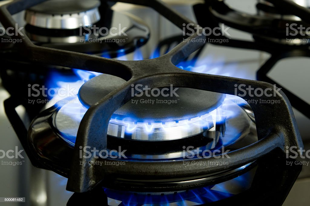 Gasflamme stock photo
