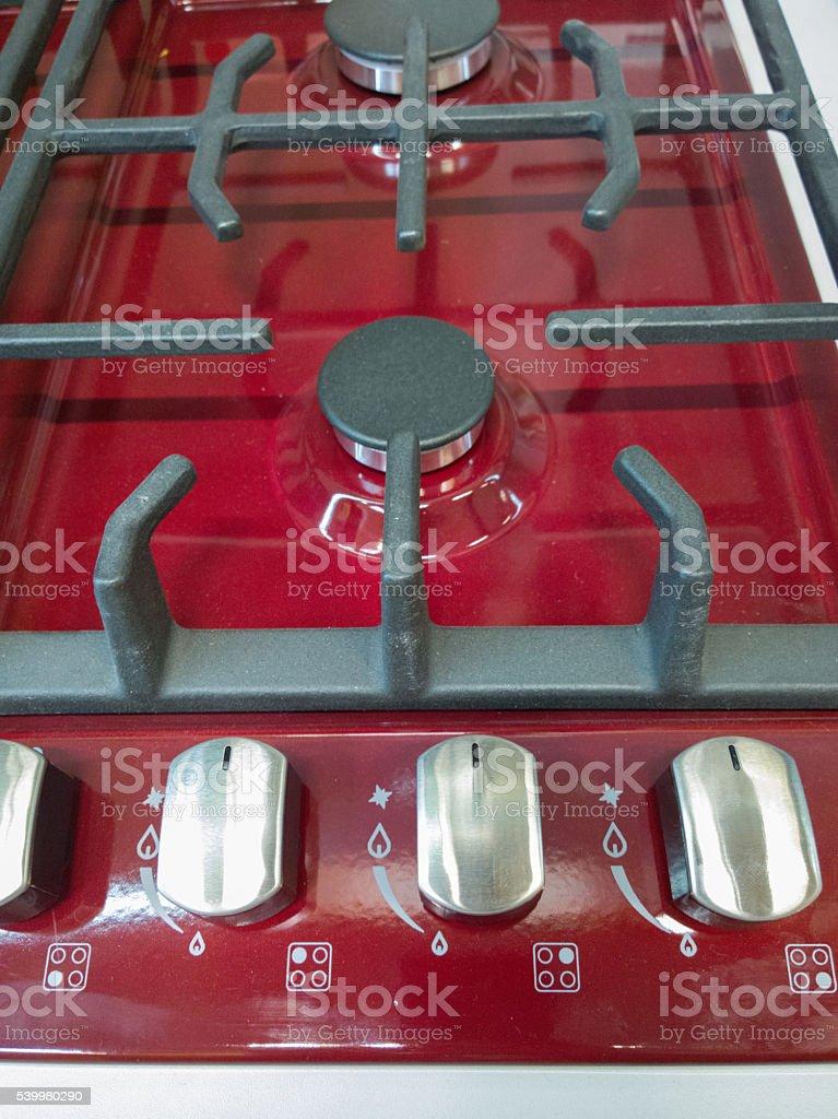 Gas-furnace. stock photo