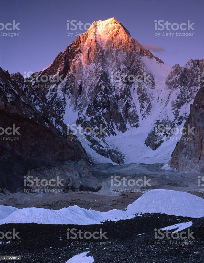 Gasherbrum IV. stock photo