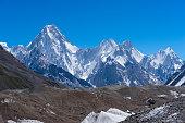 Gasherbrum massif moutain with many peak, Skardu, Gilgit, Pakistan
