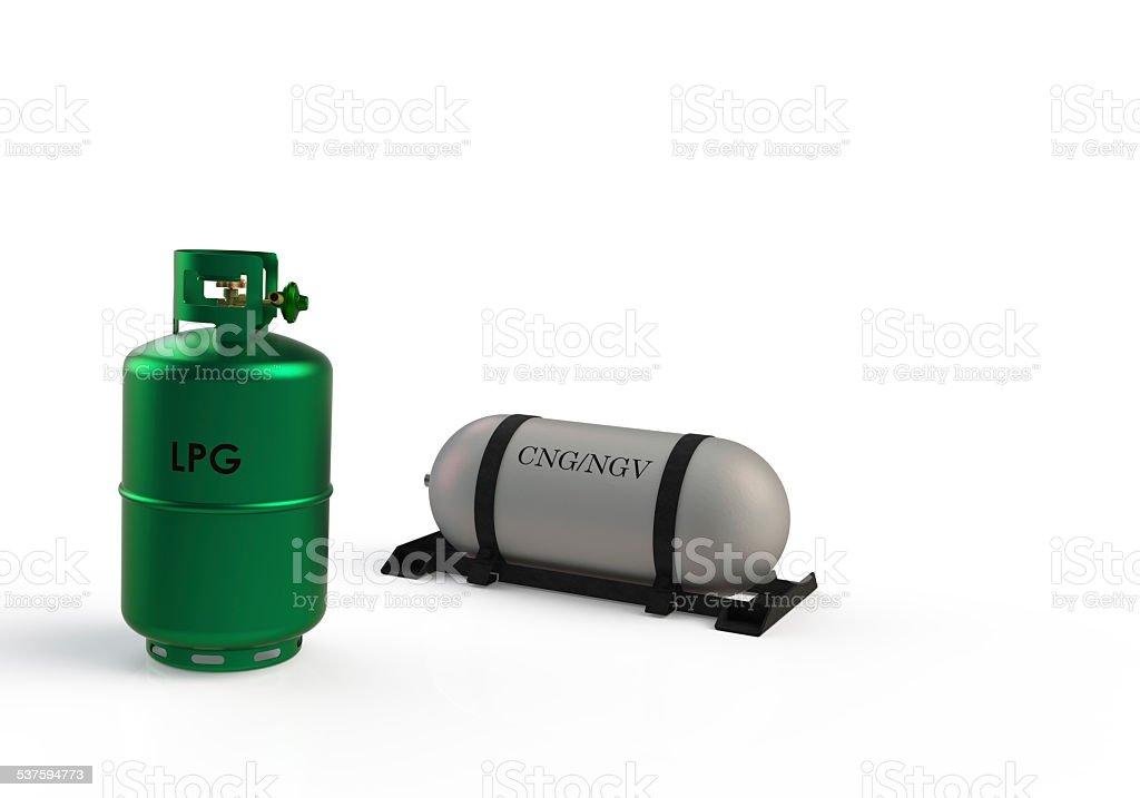 gas/liquid/LNG/LPG storage tank stock photo