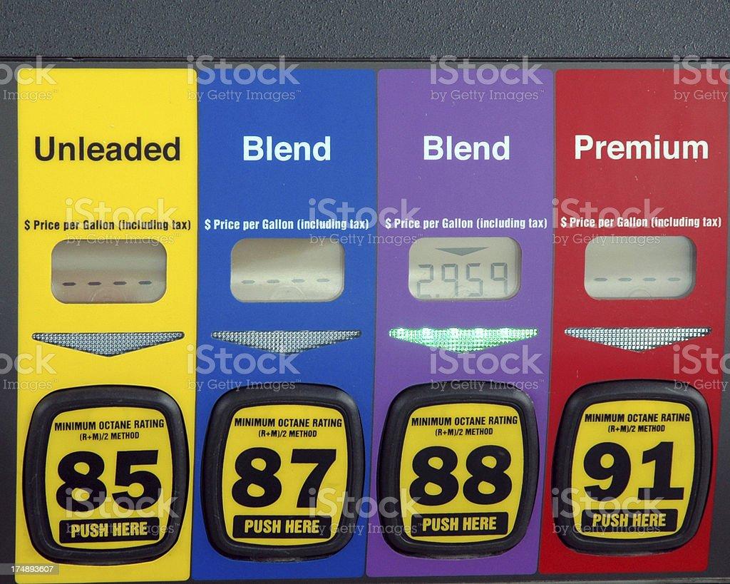 Gasolina stock photo